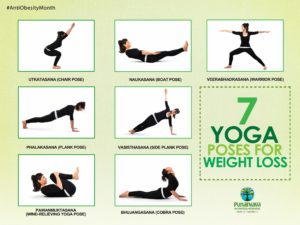 yoga pose for weigh loss