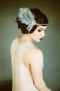 flapper headband - vintage hair accessories