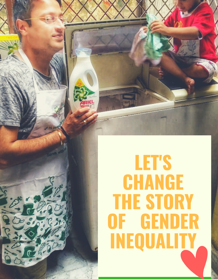 Let's Change The Story Of Gender Inequality #SharetheLoad
