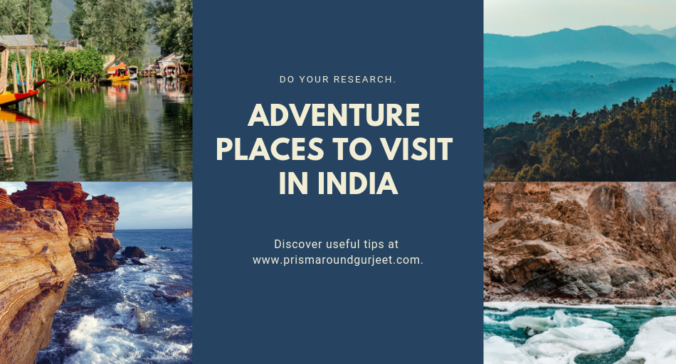 Adventure places to visit in India during Summer Vacation