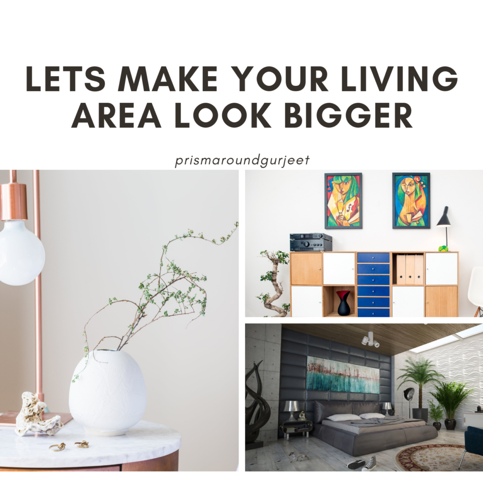 Let's Make Your Living Area Bigger