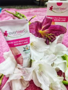 Everteen bikini line removal cream