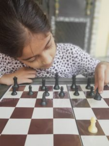 Chess help in concentration