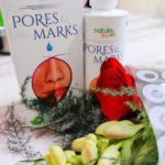 Nature sure pores and marks oil