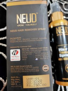 Neud hair removal