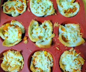 Bread Pizza cup, cooking without Fire
