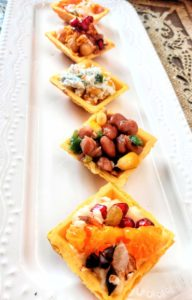 Canapes, cooking without Fire