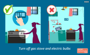 turn-off-gas while earthquake