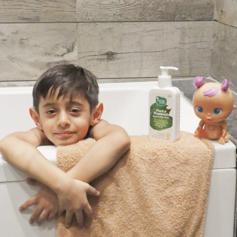 mothersparsh baby wash